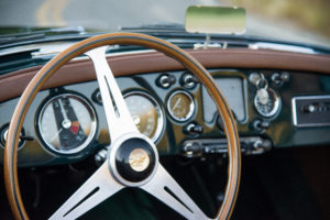 picture of MG steering wheel