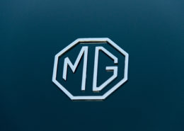 Photo of MG emblem