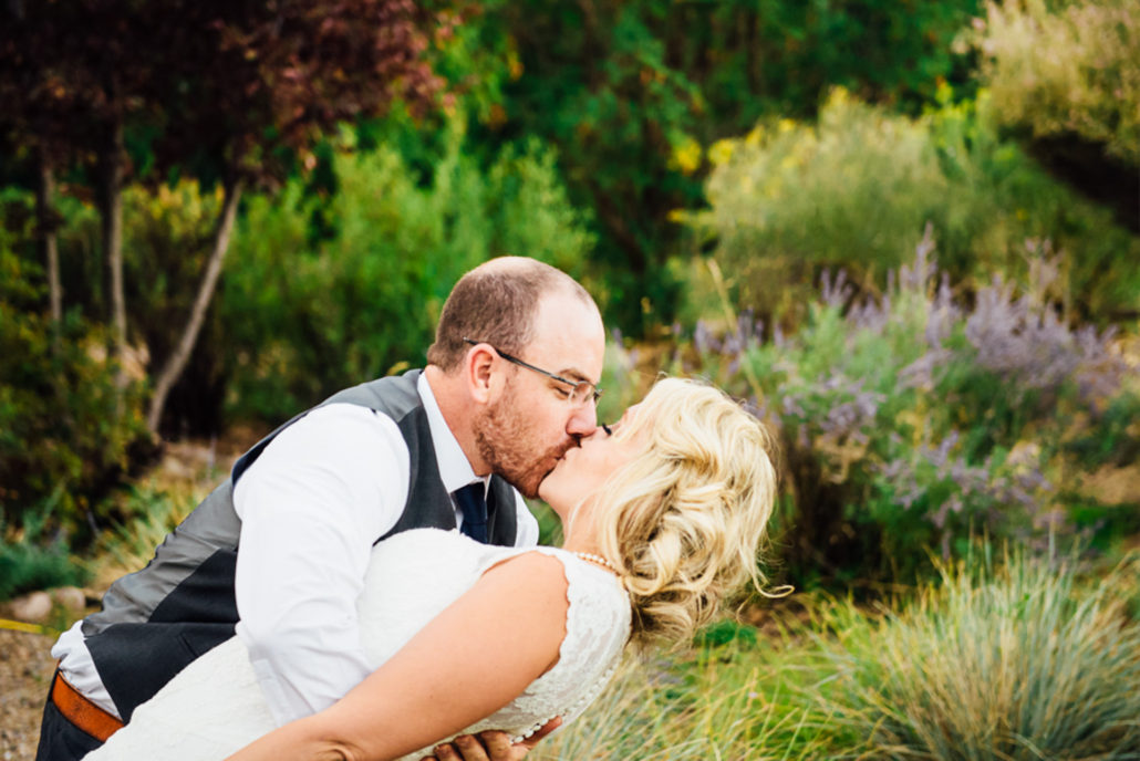 Chris Moss, Portfolio, Moss Image - Wedding Photography - Moab Utah - Christopher Moss - Bride and groom with green background