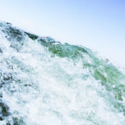 Chris Moss, Moss Image, Moab Photographer, Picture of a wave against a blue sky background
