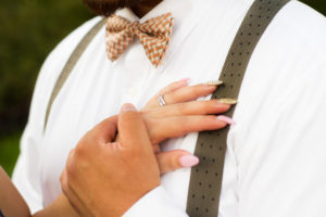 Wedding, Moss Image, Moab Photographer, Portrait, Chris Moss, Picture of a mans hand holding a womans hand displaying her new wedding ring