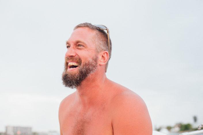 man laughing, moss image, cuba, moab photographer
