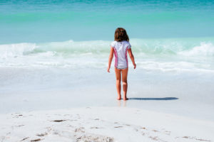 Moss Image, Chris Moss, Travel, Moab Photographer, Anna Maria Island, girl walking to water