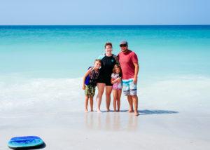 Bradenton Beach, Travel, Anna Maria Island, Family at the beach