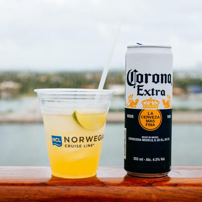 Margarita and corona extra, travel, cuba