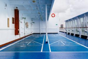 moss image, travel, shuffleboard court, cuba