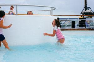 kids playing in pool, travel, cuba, moss image, chris moss