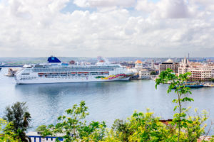 ship at port in havana cuba, moss image, travel, cuba