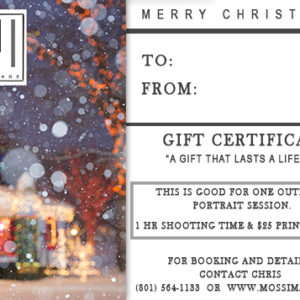 full session gift certificate moss image