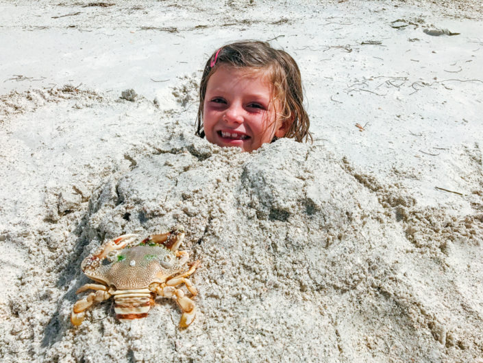 Kids, Travel, Moss Image, Girl in sand as a mermaid